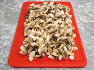 Жареный картофель с грибочками