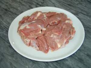 Жаркое из маринованной баранины