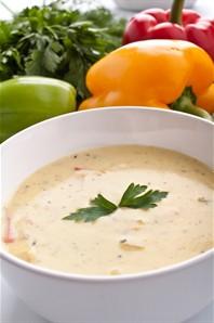 Легкий крем суп