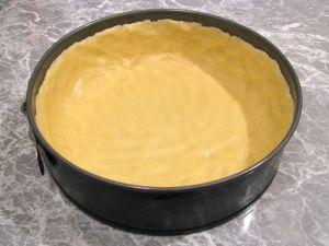 Творожный пирог с черникой