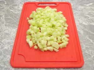 Запеканка с рисом, яблоками и изюмом
