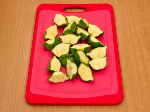 Баранина с овощами, запеченная в рукаве