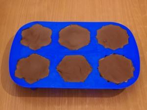 Ванильно шоколадное мороженое в шоколадной глазури
