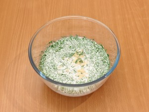 Рыба в сырно сливочном соусе