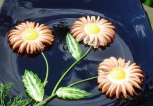 Вкусные цветы для любимой!
