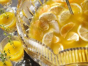 Заготовка для лимонного пунша
