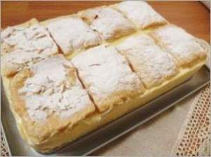 Болгарский торт А ля Наполеон