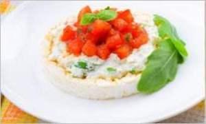 Диетический хлебец с овощами