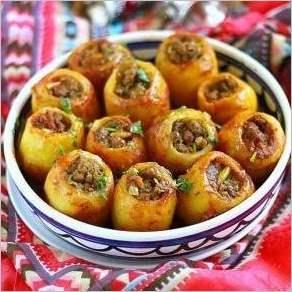 Фаршированный картофель (Батата махши)