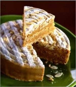 Французский торт безе