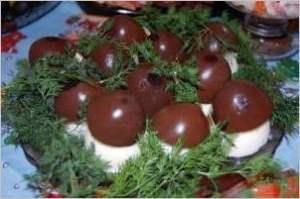 Грибочки боровички