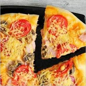 Итальянская пицца без яиц