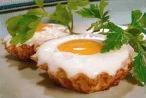 Яйца в тесте