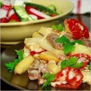 Картофель По французски на сковороде