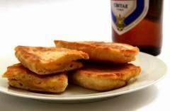 Лепёшки на пиве с сыром