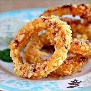 Луковые кольца дома