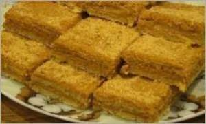 Медово апельсиновые пирожные со сгущенкой