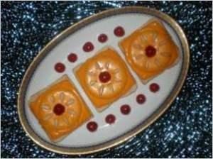 Оригинальные фруктовые тосты