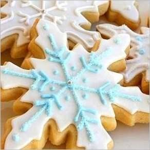 Печенья Снежинки