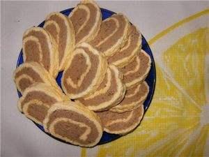 Печеночный паштет в омлете