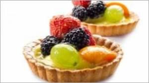 Пирожные «Ягодно фруктовые»