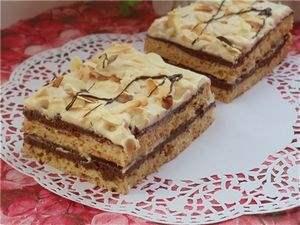 Шоколадно кофейные пирожные