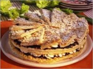 Слоеный торт по фризски (немецкая кухня)