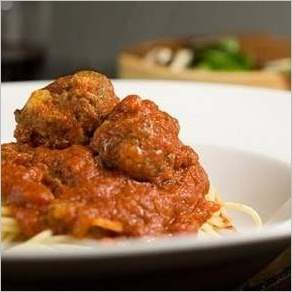 Тефтели со спагетти
