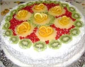 Торт Ананасовый рай