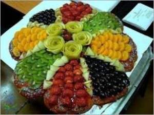 Торт Фруктово ягодный