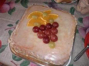 Торт Янтарная слеза