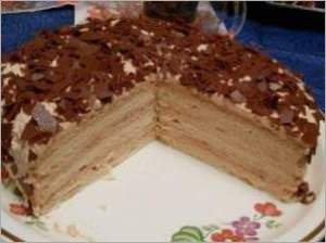 Торт Крем брюле