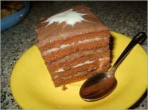 Торт Нежная шоколадка