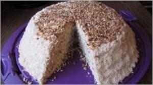 Торт ореховый «Пирамида»