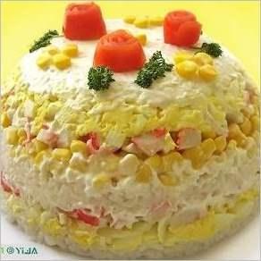 Торт салат