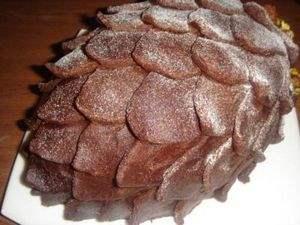Торт Шишка