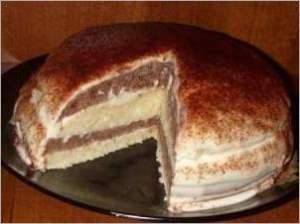 Тортик на кефире