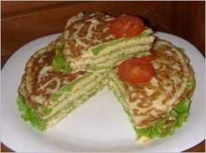 Тортик на закуску