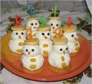 Закуска Снеговички